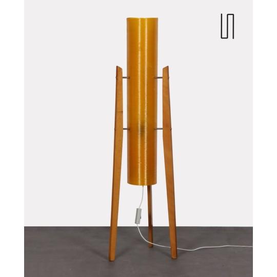 Lampadaire en fibre de verre produit par Novoplast, 1970