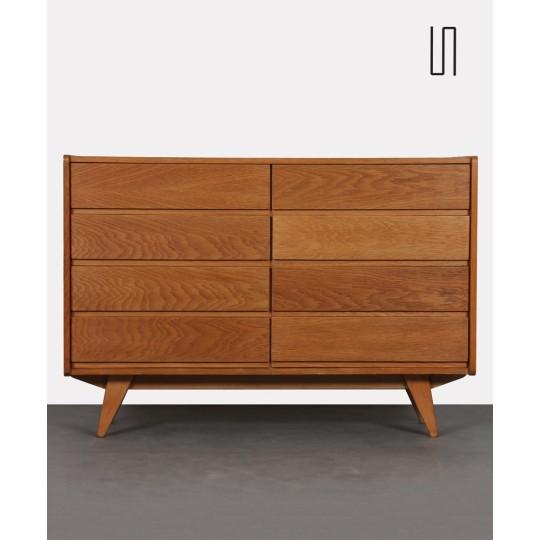 Eastern European chest of drawers by Jiri Jiroutek, model U-453, 1960s