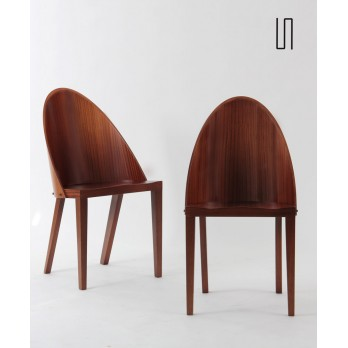 Pair of Royalton chairs by Philippe Starck for Driade, 1988