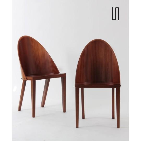 Paire de chaises Royalton de Philippe Starck pour Driade, 1988