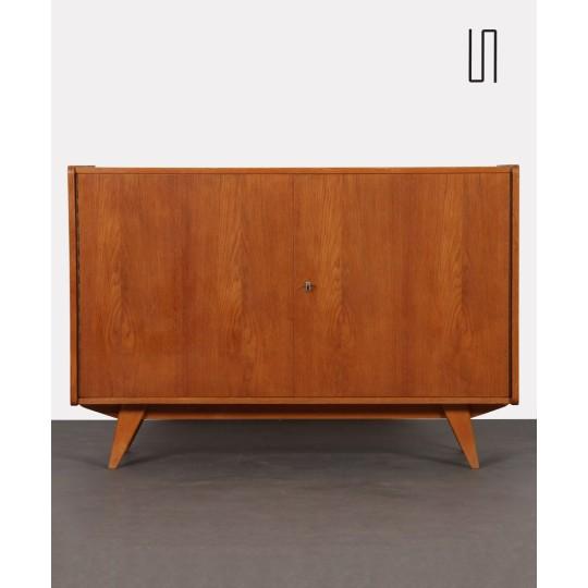 Oak chest by Jiroutek for Interier Praha model U-450, 1960s