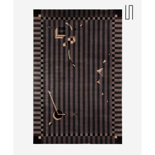 Carpet Minuit Passé, by Christian Duc for Toulemonde Bochard, 1984