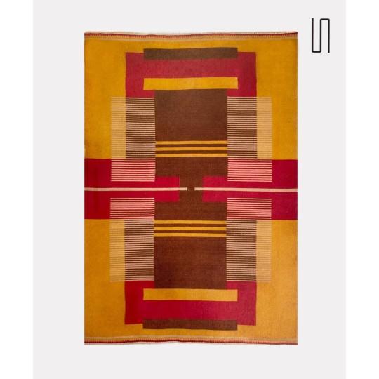 Tapis en laine dessiné par Antonin Kybal, 1948