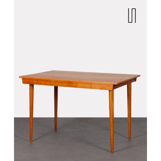 Vintage dining table, Czech design, 1960s