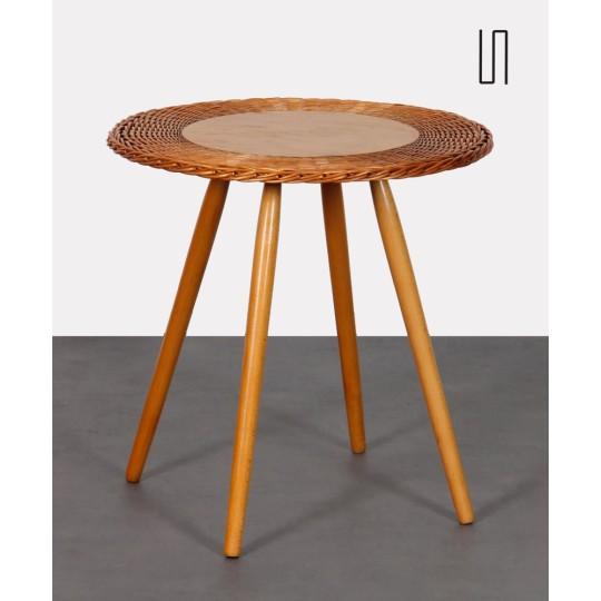 Table basse vintage par Jan Kalous pour Uluv, 1960