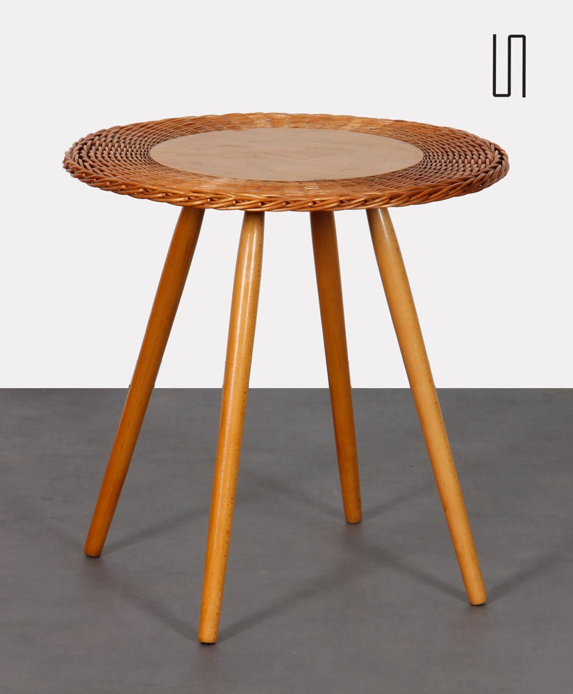 Vintage coffee table by Jan Kalous for Uluv, 1960s