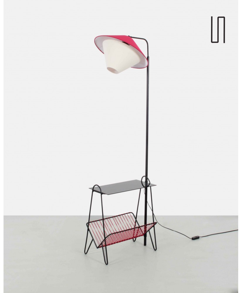 Metal floor lamp eastern europe 1950s aloadofball Image collections