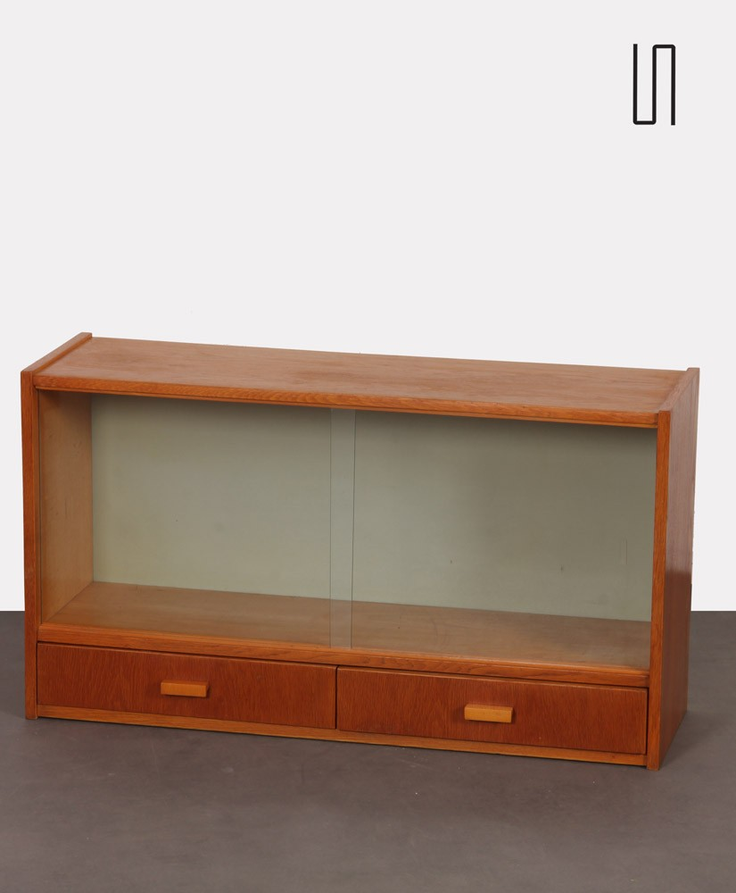 Vintage wall storage, Czech production from the 1960s