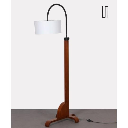Lampadaire vintage, fabrication tchèque des années 1960