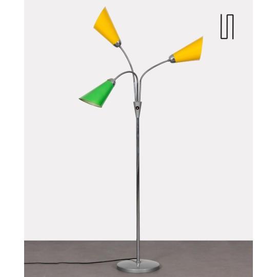 Lampadaire vintage produit par Lidokov dans les années 1960