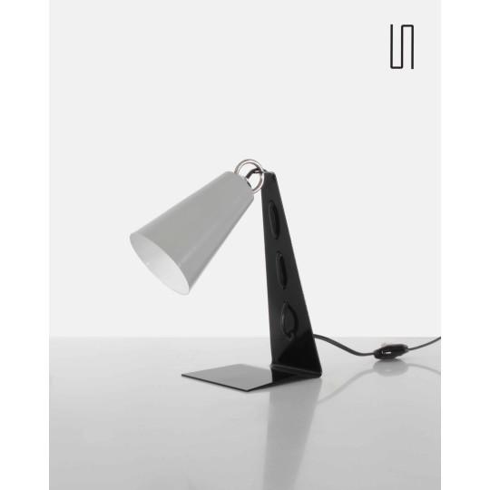 Lampe polonaise par Apolinar Jan Galecki, 1960, design d'Europe de l'Est