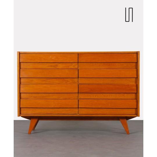 Wooden chest of drawers by Jiri Jiroutek, model U-453, circa 1960