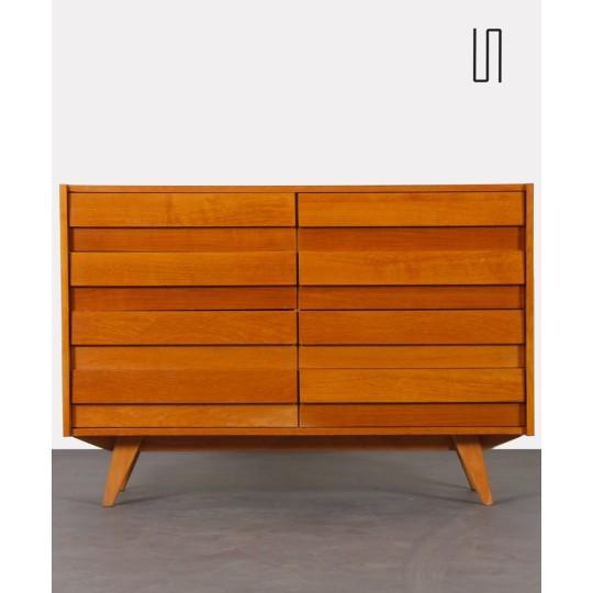 Czech chest of drawers by Jiri Jiroutek, model U-453, 1960s