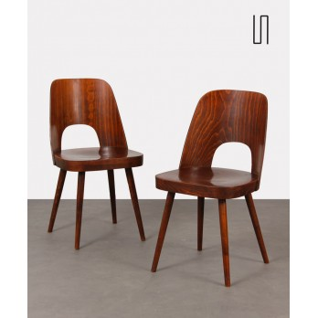 Pair of chairs by Oswald Haerdtl for Ton, 1960s