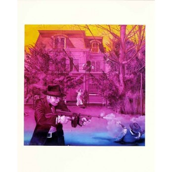 Screenprint - Jacques Monory - Série B