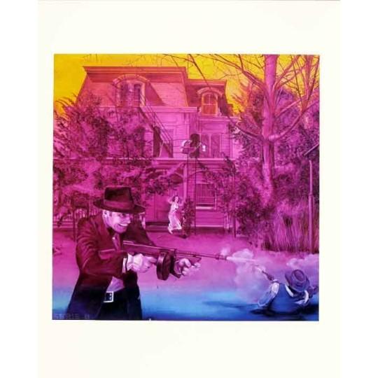 Sérigraphie - Jacques Monory - Série B