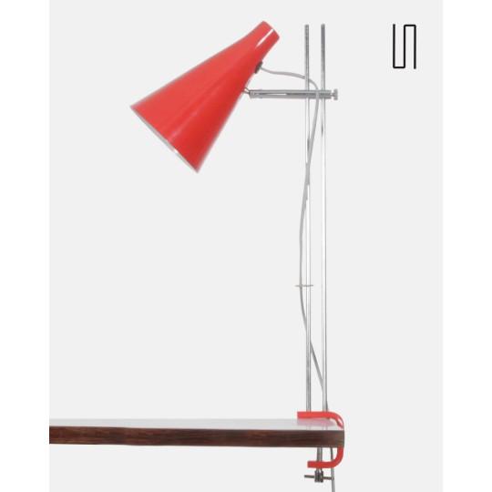 Eastern European lamp by Josef Hurka, 1960s, Soviet design