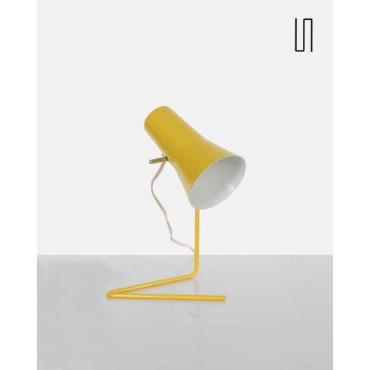 Czechoslovakian lamp by Josef Hurka for Drupol, soviet design