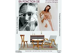 "Exhibition ""En fonction de "" from 5 to 8 March at La Rotonde Stalingrad"